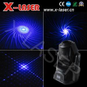Pub 1W Single Blue Kaleidoscope Moving Head Laser Light pictures & photos