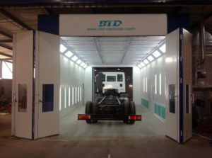 Trailer Painting Booth Big Bus Spray Booth pictures & photos