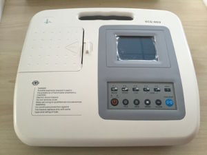 Three Channel ECG Machine with CE Approval pictures & photos