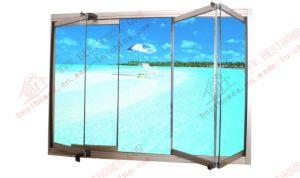Framless Aluminium Glass Bi-Folding Window (BHA-FW06) pictures & photos
