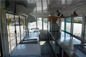Moving Restaurant Car and Moving Kiosk for Foodstuff etc pictures & photos