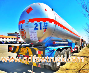 3-Axle 55cbm LPG Gas Transport Tank Semi Truck Trailer pictures & photos