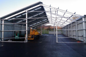 Steel Structure Prefabricated Warehouse with High Quality pictures & photos