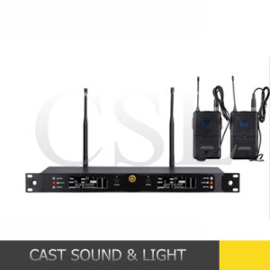 Full Frequency Range VHF UHF Wireless Microphone for PRO Stage pictures & photos