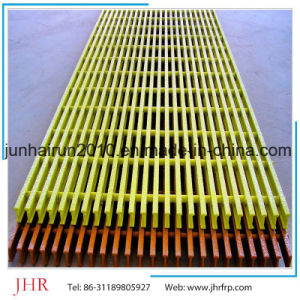 FRP Pultruded Rain Grating Cover pictures & photos