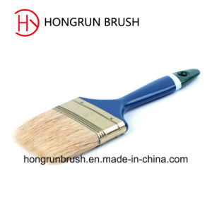Paint Brushes with Plastic Handle Hy006 pictures & photos