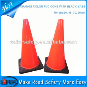 Orange PVC Traffic Cone/PVC Road Traffic Cone/PVC Traffic Road Cone pictures & photos