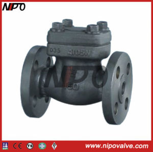 API 6D Flanged Forged Steel Check Valve pictures & photos