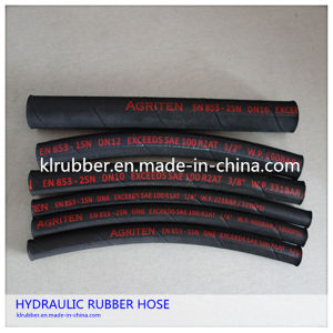 High Pressure Oil Resistant Hydraulic Rubber Hose pictures & photos