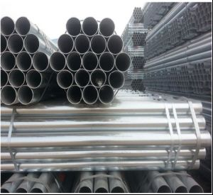 Exporting 1inch, 1.5inch, 2inch Round Steel Tube/Galvanized Steel Pipe pictures & photos