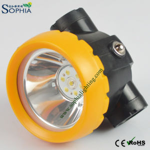 LED Cap Lamp, Mining Light, Mining Lamp, Cordless Cap Lamp