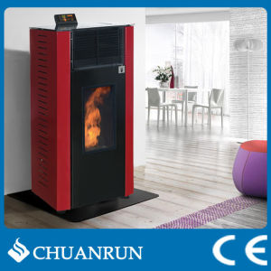 14kw Pellet Heater Stove, Wood Burning Fireplace/ Pellet Stoves (CR-09) pictures & photos