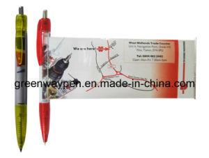 Promotional Plastic Banner Pen (GW-802)