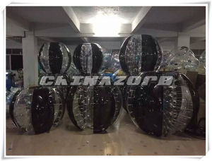 Black&Clear Mixed Color Bubble Soccer Body Bumper Ball pictures & photos