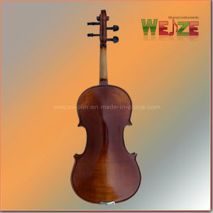 Antique Type Half Handmade Oil Painting Violin pictures & photos