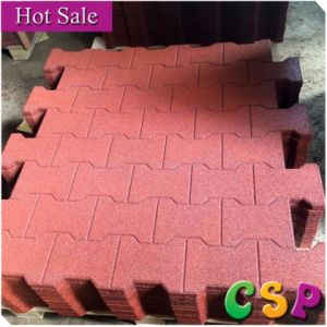 Antislip Stable Dog Bone Rubber Tile for Horse pictures & photos