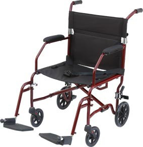 Lowest Price Aluminum Lightweight Transport Wheelchair