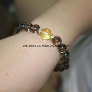 Fashion Natural Smoky Quartz Crystal Bracelet Bangles Jewelry pictures & photos