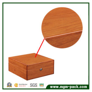 Rosewood High Gloss Piano Finish Wooden Jewelry/Jewellery Watch Packaging Gift Box with Drawer pictures & photos