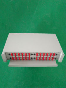 Wall Type 8port Fiber Optical Patch Panel ODF Distribution pictures & photos