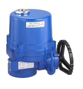Lq Electric Wcb Flange Ball Valve pictures & photos