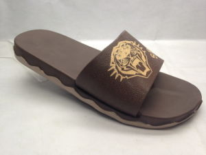 EVA Neutral and Concise Comfortable Slippers with Cool Pattern (21gn1701) pictures & photos