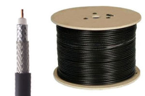 RG6 Coaxial Cable Statliite Cable 96% Brading Alumminum Alloy Brading pictures & photos