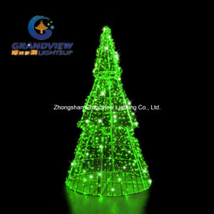 Green 3D Pine LED Christmas Tree pictures & photos