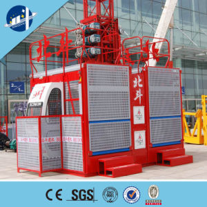 Building Hoist for Sale ISO9001 BV Approved, Sc200/200 Construction Elevater for Sale, Construction Elevator pictures & photos