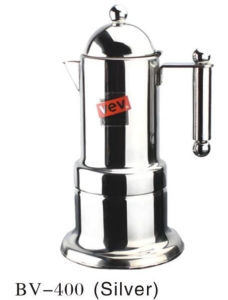 4cup Silver Moka Coffee Maker pictures & photos