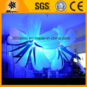 Beautiful Color Changing Inflatable Wedding Decoration Flowers