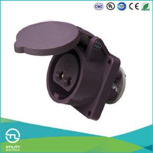Utl Uz603 Low Voltage Socket 20-25V Plastic Waterproof Plug Connector pictures & photos