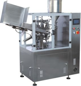 Plastic Aluminum Tube Filling Sealing Machine for Cosmetic Cream Ointment pictures & photos