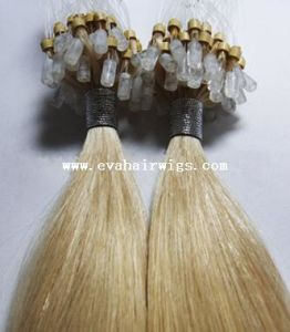100% Indian Remy Double Beaded Micro Ring Human Hair Extension pictures & photos