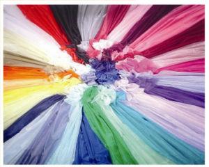 Glass Organza, Matt Organza Fabric in Multicolors, Marriage Gauze Cloth. pictures & photos