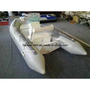 Fiberglass Boat with Steering Console pictures & photos