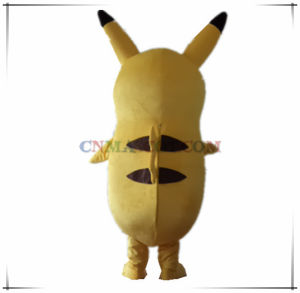 High Realistic Face Big Body Pikachu Cartoon Character Carnival Costume pictures & photos