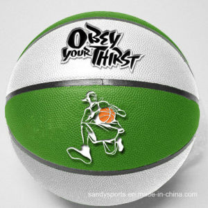 High Quality Good Price Promotional PU Leather Basketball pictures & photos