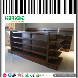 Heavy Duty Plain Back Panel Supermarket Shelf pictures & photos