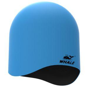 Blue Adult Professional Silicone Swimming Cap (CAP-1804) pictures & photos