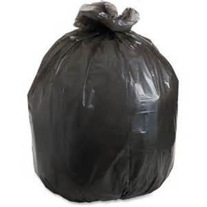 HDPE Black Loose Packed Trash Bag pictures & photos