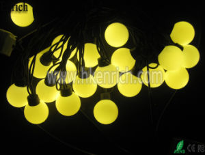 D40mm LED Ball String with 20PCS LED pictures & photos