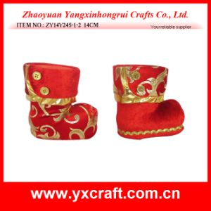 Christmas Decoration (ZY14Y245-1-2) Christmas Boots pictures & photos