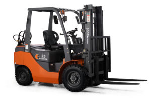 2.5ton Gasoline & LPG Forklift Truck Nissan Engine with CE pictures & photos
