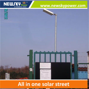 Integrated Solar LED Outdoor Light for Street Path House with Mono Panel pictures & photos