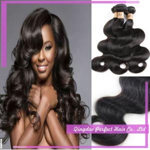 Unprocessed Brazilian Virgin Human Hair Extension pictures & photos