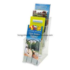 Acrylic Brochure Rack, Brochure Stand, Book Rack pictures & photos