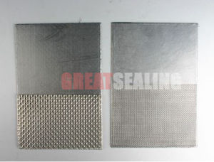 Reinforced Graphite Sheet with Tanged Metal (G-Grafoil 340T) pictures & photos