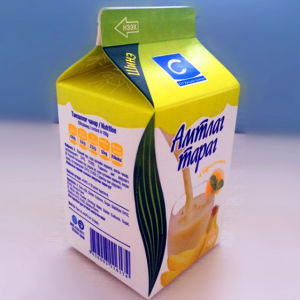 500ml 3 Layers Gable Top Cartons for Milk pictures & photos
