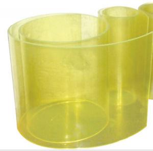 Transparent Yellow Polyurethane PU Sheet pictures & photos